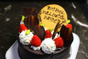 ベルジュール洋菓子店の誕生日ケーキ・キャラクターケーキ