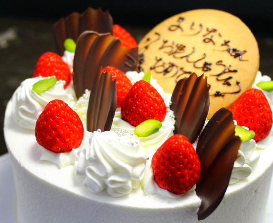 ベルジュール洋菓子店・誕生日ケーキ・キャラクターケーキ