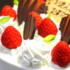 ベルジュール 誕生日ケーキ