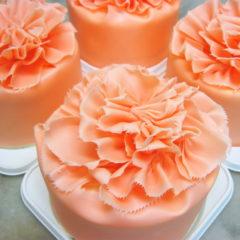 母の日 カーネーションケーキ