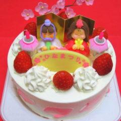 ひな祭りケーキ 丸型