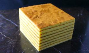 四角 バウムクーヘン ベルジュール