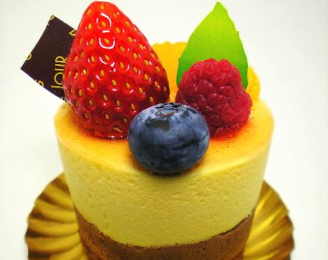 ベルジュールのパッションフルーツケーキ