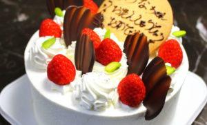 ベルジュールの誕生日ケーキ